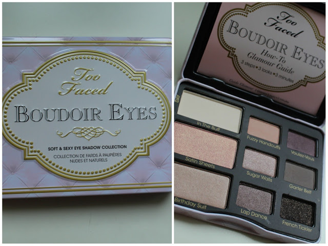 Elsa make up palette boudoir eyes par too faced - Palette maquillage aimantee ...