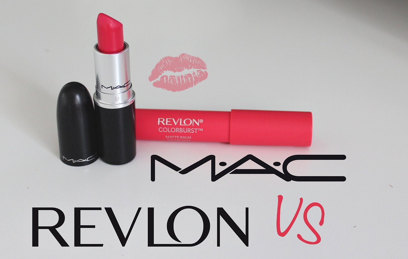 elsa make up dupe en moins cher mac vs revlon. Black Bedroom Furniture Sets. Home Design Ideas